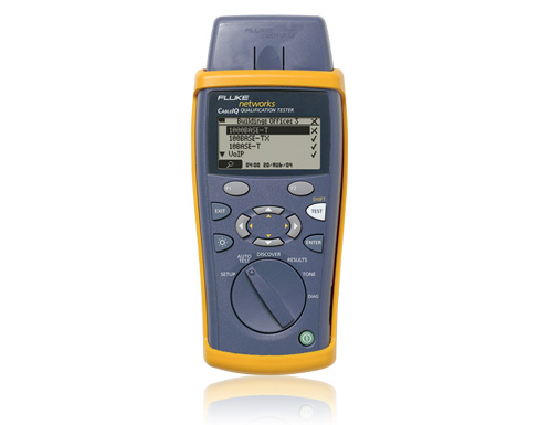 Fluke CableIQ Qualification Tester