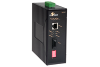 EL1141 Serisi Endüstriyel Fast Ethernet IEC61850/IEEE1613 Hardened 10/100BASE-TX to 100BASE-FX Media Converter