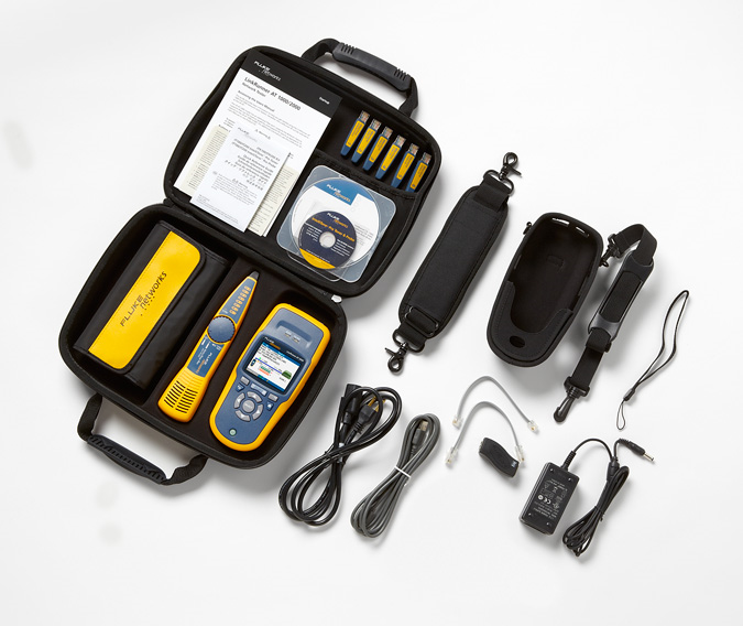 Fluke LinkRunner AT 2000 Network Auto-Tester (fiber + s/w options)