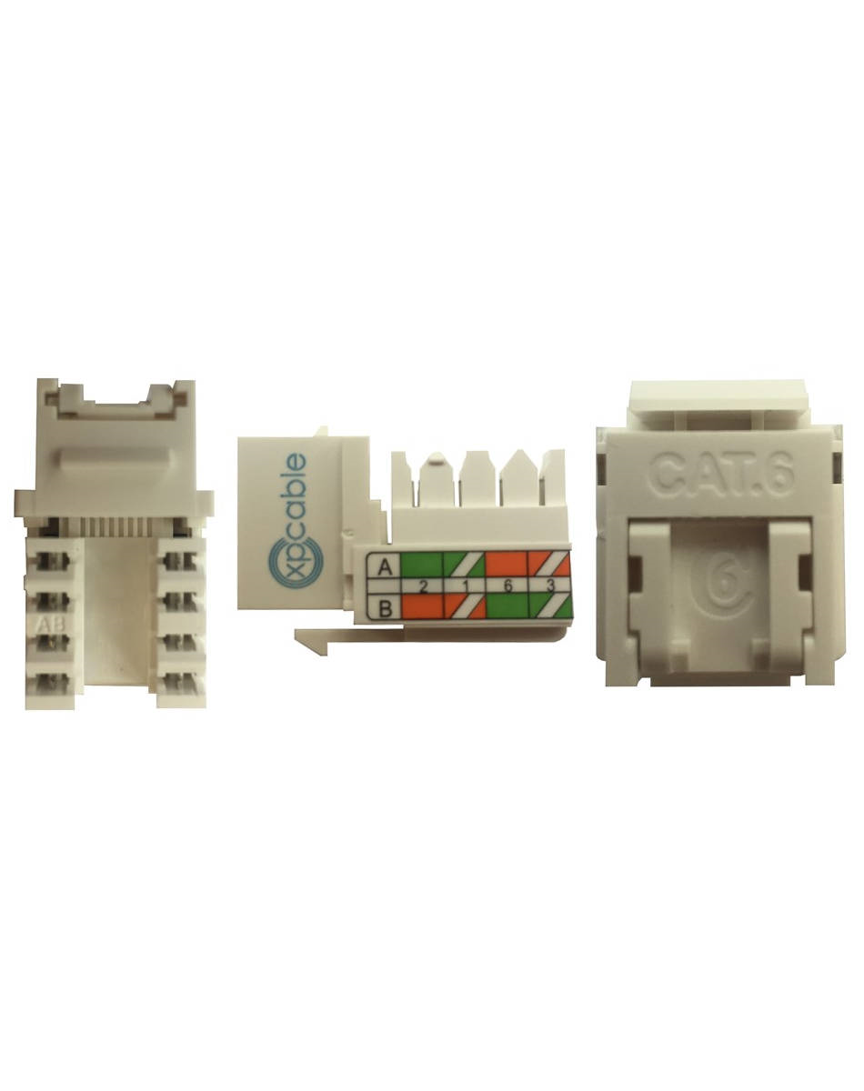 XPCABLE CAT6 UTP KEYSTONE JACK