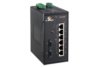 EX45000 SERİSİ Hardened Unmanaged 8-port 10/...