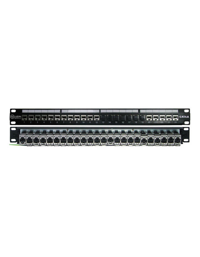 XPCABLE CAT6  24 Port BOŞ  FTP PATCH PANEL