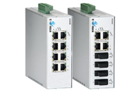EX43000SERİSİ Endüstriyel Yönetilemez 8-port 10/100BASE Ethernet Switch