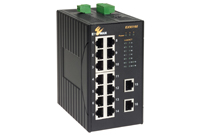 EX95000 SERİS 16-port 10/100BASE Hardened Yönetilemez  Ethernet Switch